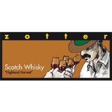 Zotter Scotch Whisky 70% 70g